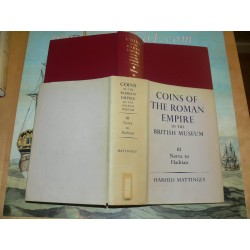 Mattingly: COINS OF THE ROMAN EMPIRE IN THE BRITISH MUSEUM. VOLUME III: NERVA TO HADRIAN. 1966 Edition