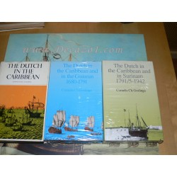 Goslinga, Cornelius C.: The Dutch in the Caribbean, Wild Coast, Guianas and Surinam. 3 Volumes