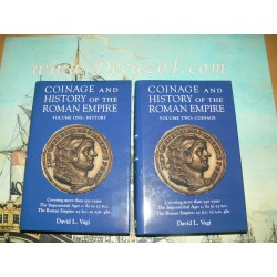 Vagi, D. Coinage and History of the Roman Empire. 2 Volumes. First Edition.