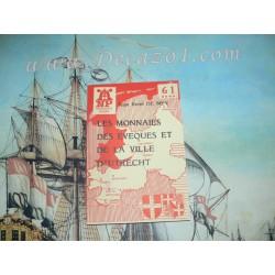 NP 61 De  Mey:  LES MONNAIES DES EVEQUES ET DE LA VILLE D'UTRECHT 983-1579 Numismatic pocket