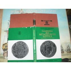 Steguweit, Wolfgang: Geschichte der Münzstätte Gotha vom 12. bis zum 19. Jahrhundert