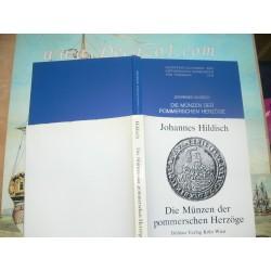 Hildisch, Johannes Die Münzen der pommerschen Herzöge von 1569 bis zum Erlöschen des Greifengeschlechts.