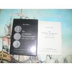 """Martin, Klaus: Die preußischen Münzprägungen von 1701 - 1786 mit Bewertungsliste. Band 60 der Schriftenreihe """"Die Münze""""."""