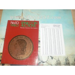 Spink Coin Auction, London 010 1980-09 Gold Coins of the World. Low countries, Russia.  With many large denominations.