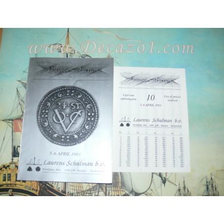 Laurens Schulman. Bussum. Auction 10. 1993-04