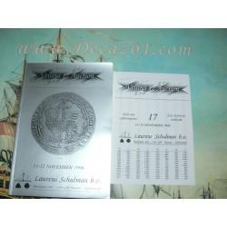 Laurens Schulman. Bussum. Auction 17. 1996-11. Coinhoard Urk Provincial Gold & Silver coins.