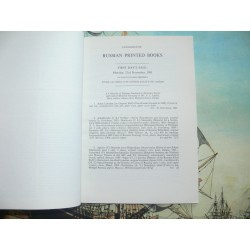 Sotheby's 1981-11-23. CATALOGUE OF RUSSIAN PRINTED BOOKS (LANDRY LIBRARY)