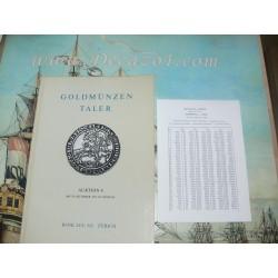 Bank Leu AG, Zurich, 1973-10 (8) Goldmünzen Taler