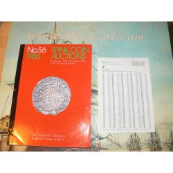 Spink Coin Auction, London 056 1986-11. Auctioneer copy of The  Norweb Collection English Coins- Part 3. R.P.