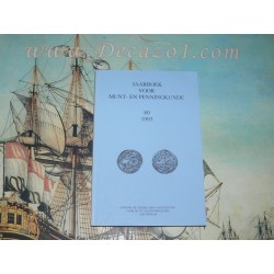 1993 (80) Jaarboek van het Koninklijk Nederlands Genootschap voor Munt- en Penningkunde.