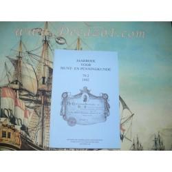 1992 (79-2) Jaarboek van het Koninklijk Nederlands Genootschap voor Munt- en Penningkunde.
