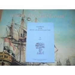 1987 (74) Jaarboek van het Koninklijk Nederlands Genootschap voor Munt- en Penningkunde.
