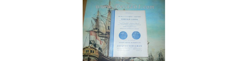 Jacques Schulman -  Auctions 1937 - 1989
